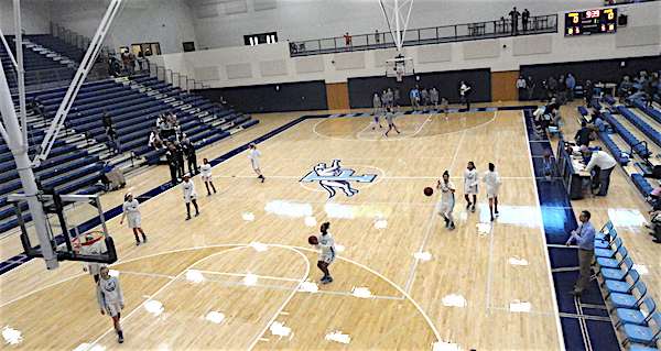 Photos new pope gym debuts as lady greyhounds roll east for How to build a basketball gym